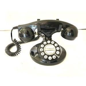 VG MICROTEL Black Retro Look Telephone MODEL 966